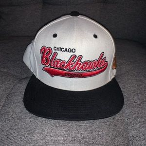 Mitchell and Ness Blackhawks Hat